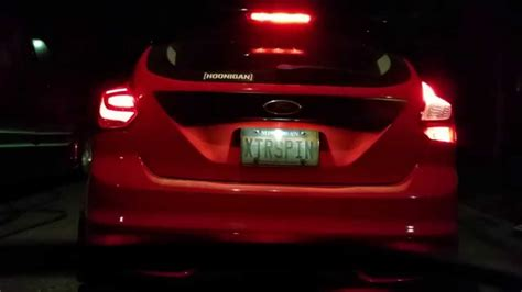 2015 focus st tail light tint ford focus st hatchback led taill vs stock oem tail