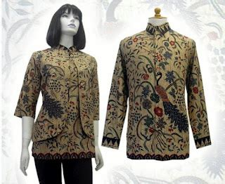 desain baju batik sarawak model baju batik sarimbit pria wanita modern solo jogja
