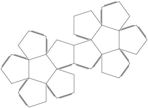 platonic solids templates 10 best images about platonic solids dodecahedron on