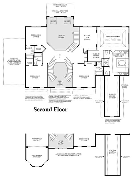 henley floor plans the woods of south barrington signature collection the