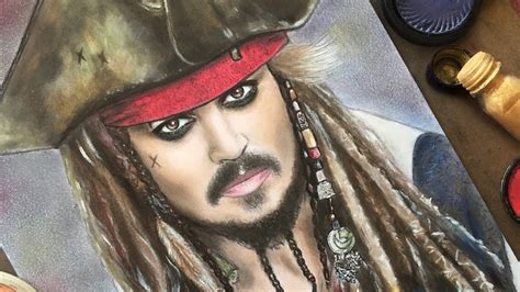 tutorial makeup jack sparrow drawing captain jack sparrow with makeup johnny depp in