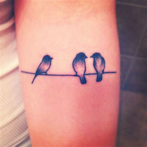 little bird tattoo three birds tattoos