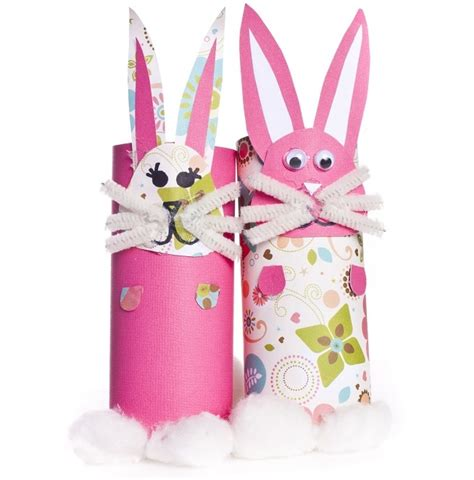 Easter Toilet Paper Roll Crafts - easter craft ideas from rock family