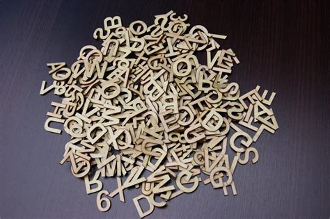 Small Metal Letters For Crafts