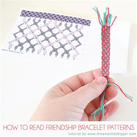How To Make String Patterns - how to read friendship bracelet patterns a