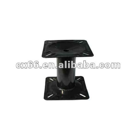wide jon boat seat mount seat hardware swivel pedestal bracket base mount post