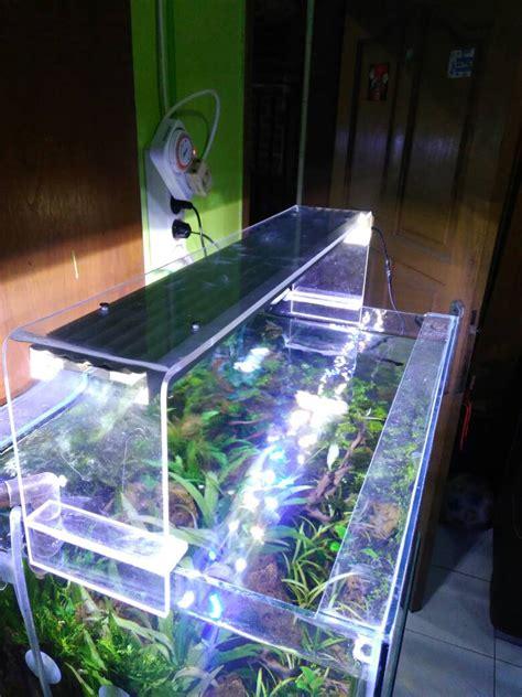 Jual Lu Led Aquarium Diy jual lu aquarium akrilik diy 60 cm 24 watt