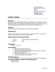 Current Resume Format Current Resume Formats Getessay Biz
