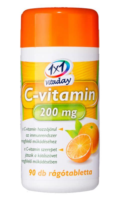 Vitamin Orange 1 1x1 vitaday vitamin c 200 mg chewing tablets in orange