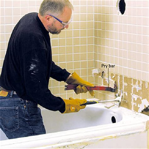 removing bathtub removing a bathtub how to remove a bath tub diy plumbing diy advice