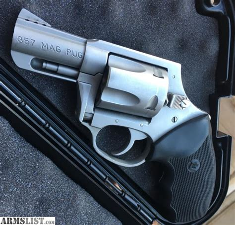 charter arms 357 mag pug for sale armslist for sale trade charter arms 357 magnum pug hammerless ported