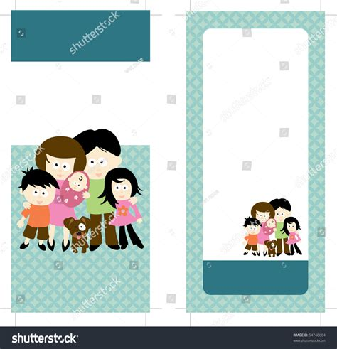 two sided rack card template jpeg 4x9 two sided rack card brochure template stock photo