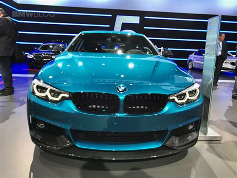 bmw blue colors 2017 new york auto show bmw 440i in snapper rocks blue