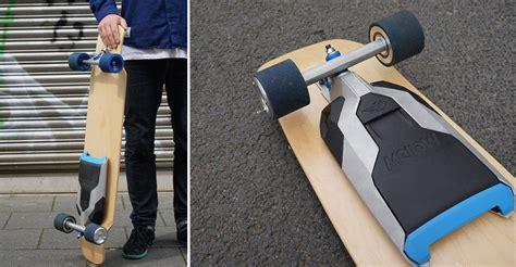 cet accessoire permet de rendre 233 lectrique n importe quel skateboard