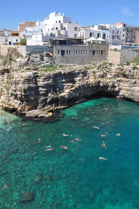 apulia roma from rome to puglia town of polignano a mare use