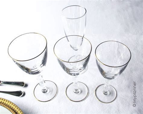 Placement Des Verres Sur Une Table by Le Service De Table Quot 224 L Anglaise Quot Myplanner Le