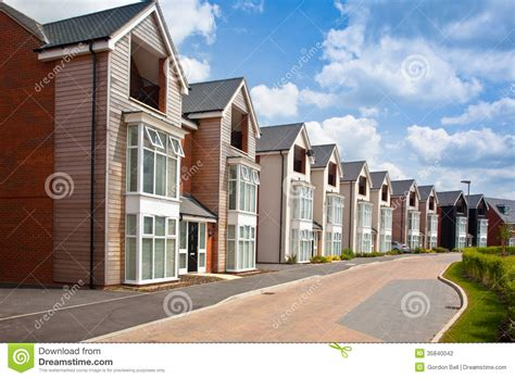 urban housing modern urban housing stock photography image 35840042