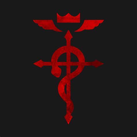 Kaos Fullmetal Alchemist Logo 1 fullmetal alchemist logo t shirt teepublic