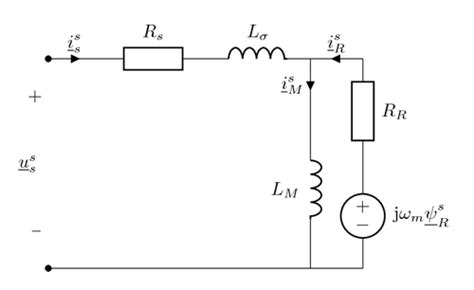 inductor bulb circuit dynamic inverse gamma equivalent circuit for an induction machine tikz exle