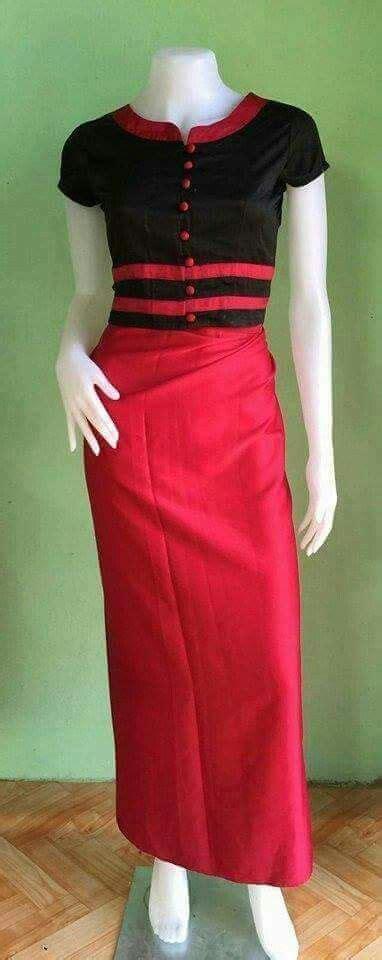 images  myanmar blouse  pinterest blouse
