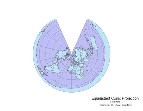 conic map geography of takafumi lab 5 map projections