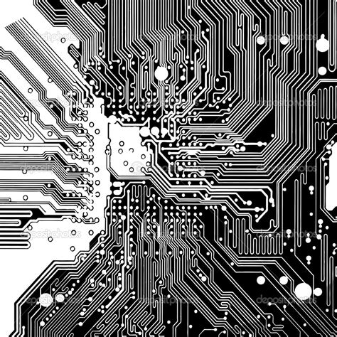 circuit board background protium design computer circuit board made in vector vector by icetray