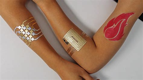 tech tattoo this that controls a smartphone may be a glimpse of