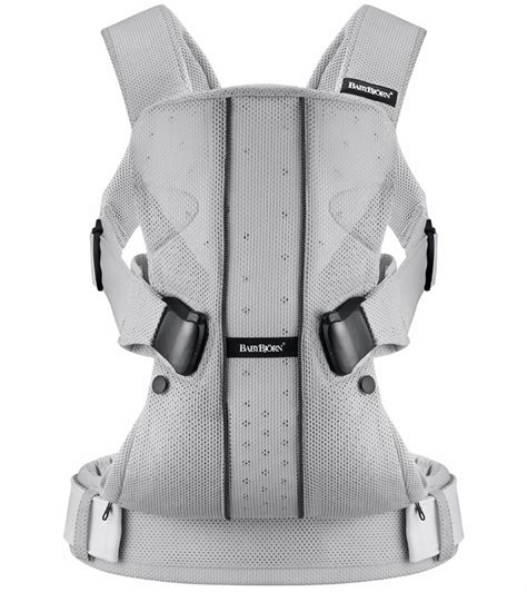 babybjorn one baby carrier silver babybjrn baby carrier one mesh silver