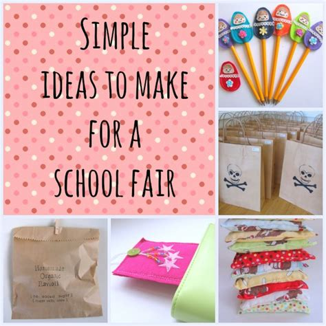 craft ideas for to make at school school fair ideas goodsell school fair school