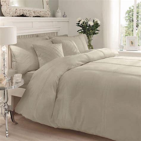 Percale Cotton Duvet Covers Modern Pintuck Stripe Duvet Cover Soft Percale Cotton