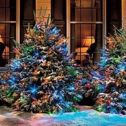 Pinterest outdoor christmas decorating ideas