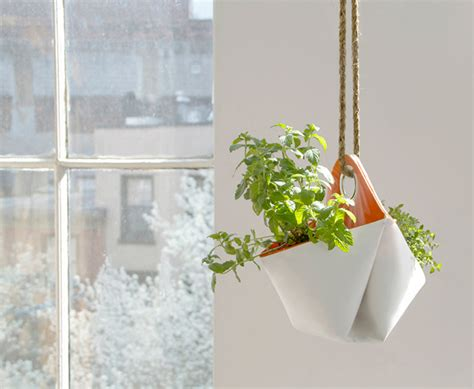 Hanging Window Planter Reclaimed Boat Sails Upcycled As Portable Planters
