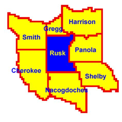Rusk County Divorce Records Location