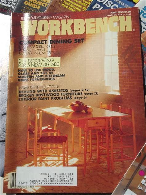bench magazine workbench magazine back issues benches