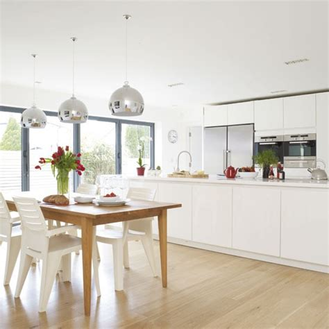 Kitchen Dining Lighting Ideas Light Filled Kitchen Diner Kitchen Diner Idea Housetohome Co Uk