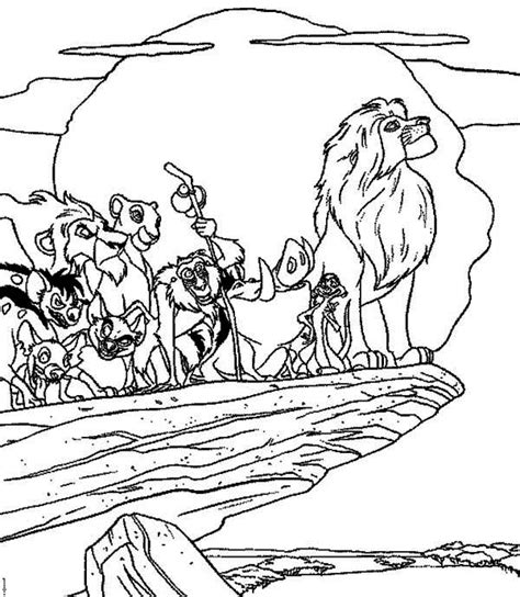 all lion king coloring pages lion king characters coloring page