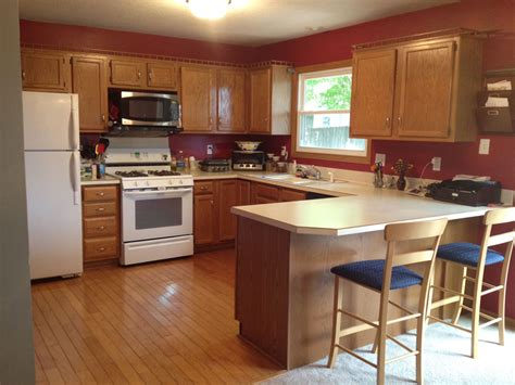 Color Ideas For Kitchen Cabinets by Best Kitchen Paint Colors With Oak Cabinets Kitchen