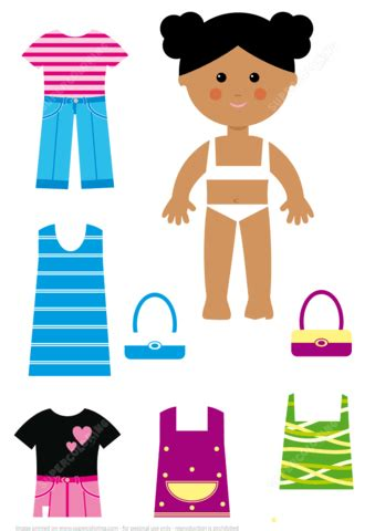Paper Doll Pattern Free Printables Uma Printable American Doll Clothes Templates