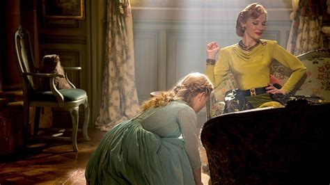 is cinderella film good cate blanchett in cinderella 1940s inspired costumes