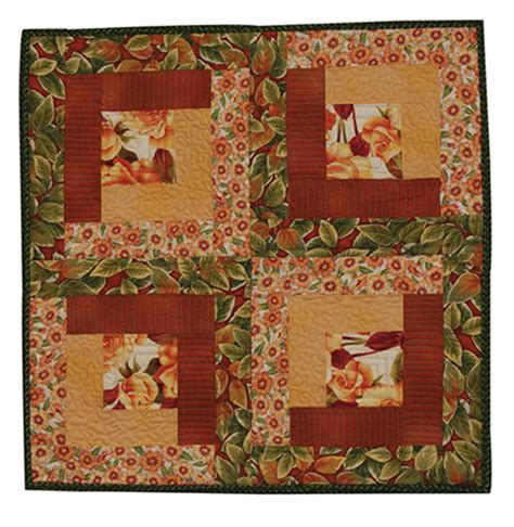 Small Quilt Kits snap sack small quilt kit harvest tradition finished size