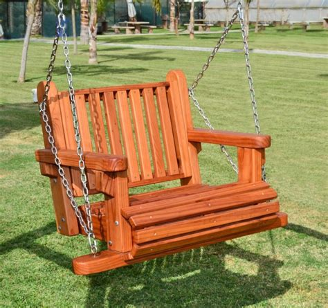 Outdoor Swing Chair by Hanging Garden Chairs Wooden Swing Seats Garden Furniture