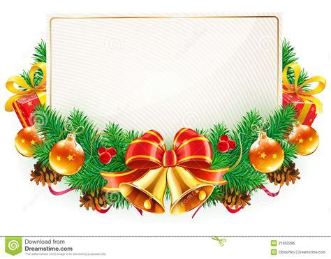 imagenes navidad vector marco decorativo de la navidad ilustraci 243 n del vector