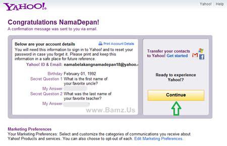 cara membuat email melalui yahoo cara membuat email facebook di yahoo berita terbaru