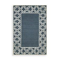 Transocean Rugs Indoor Outdoor Trans Chain Border Indoor Outdoor Rug Bed Bath Beyond