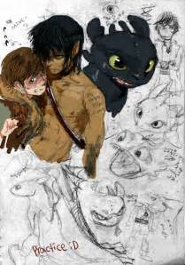 Top human toothless x hiccup images for pinterest tattoos