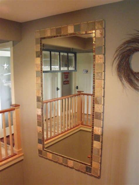 how to install a bathroom mirror with glue brilliant gonna hot glue tile around our plain bathroom