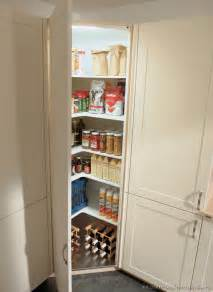 Of the corner kitchen pantry cabinet to maximize corner spots at home