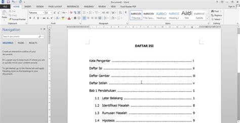 format penyusunan skripsi yang benar contoh proposal skripsi yang baik dan benar jurnal media