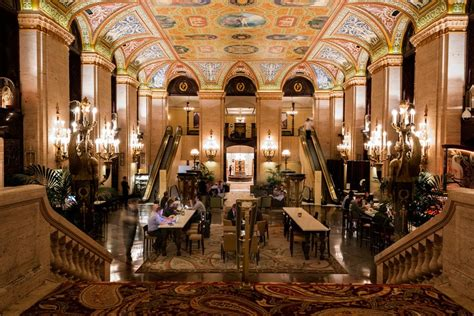 the palmer house chicago the hotel lobby isn t a way station it s a destination best of chicago 2016