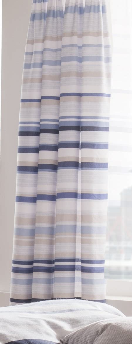 blue grey striped curtains blue grey white striped 66x72 inch catherine lansfield